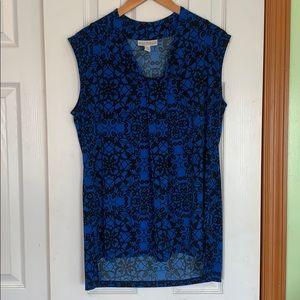 Blue top size L